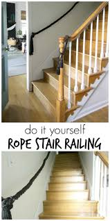 Stair Banisters And Railings Diy Stair Railing Cassie Bustamante