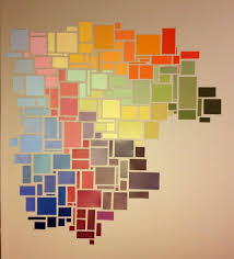best 25 paint chip wall ideas on pinterest paint sample wall