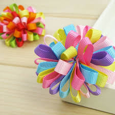 ribbon hair clip pin by eberle on crafts for kids hair accesories