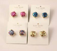 glitter stud earrings kate spade jewelry ebay