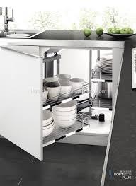 high quality kitchen cabinet storage magic corner basket view