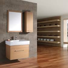bathroom modern pedestal sink and cool storage cabinet design