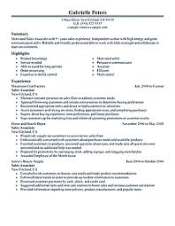 sample resume for retail sales associate cover letter resume samples sales associate sample resume sales cover letter objective for resume s associate writing sample examples it cover letter examplesresume samples sales