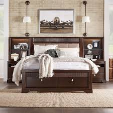 homesullivan nichols 3 piece brown queen bedroom set 40313bq