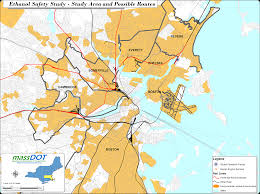boston city map boston area map my