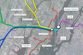 Hudson Bergen Light Rail Map Real Transit