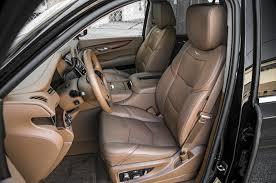 cadillac escalade 2015 interior the big test large luxury suvs motor trend