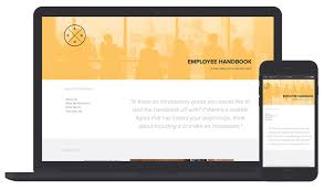 employee handbook template by xtensio it u0027s free