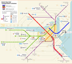 Boston Airport Map by Boston Commuter Rail Map Afputra Com