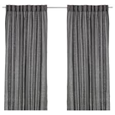 Curtain Rods U0026 Rails Ikea by Aina Curtains 1 Pair Dark Grey 145x250 Cm Ikea