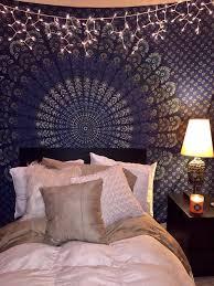 mandala tapestry dark blue tapestry boho bedroom a mandala tapestry dark blue tapestry boho bedroom