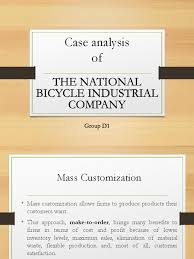 opm national bicycle company d1 section 1 strategic management