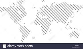World Map Icon by Vector World Map Lines Diagonal Vektor Weltkarte Linien