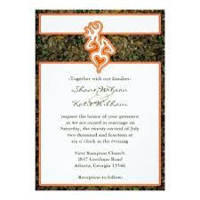 camouflage wedding invitations camo wedding invitations announcements zazzle