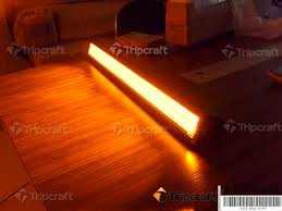 orange led light bar 6pcs 7 5 36w led bar light rally off road lights tc sc36 36w in car