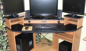 gaming desk plans desk stunning gaming computer desks office workspace home gaming
