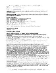 Sample Employment Resume by Download Security Engineer Sample Resume Haadyaooverbayresort Com