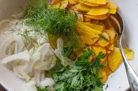 butter bean salad with meyer lemon vinaigrette
