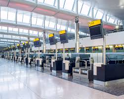 heathrow terminal 2 check in desks ccd design