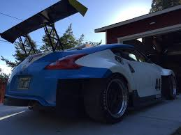 nissan 370z widebody valkyrie autosport u0027s incredible 370z road racerturnology