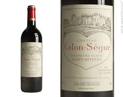 chateau calon segur estephe prices
