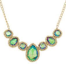 swarovski beaded necklace images Lovely beaded bezel swarovski cabochon necklace tutorial the JPG