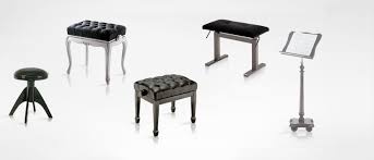 benches and music stand discacciati
