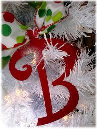 metal letter ornaments spelling ideas