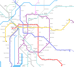Osaka Subway Map by Urbanrail Net U003e Asia U003e Japan U003e Nagoya Subway Metro