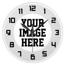personalized clocks with pictures wall clocks zazzle