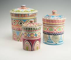 pottery kitchen canisters best 25 ceramic canister set ideas on ceramics ideas