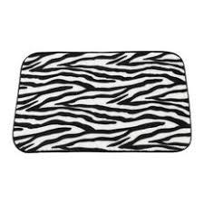 black and white bath mats houzz