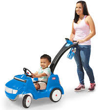 toddler ride on car parent push cars by little tikes