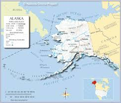 Show Me A Map Of Alaska Map Alaska Trip Pinterest Alaska Usa Road Map And