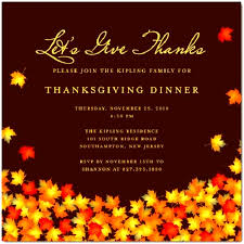 thanksgiving invitation template sle thanksgiving invitation