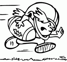 football coloring page coloring com my coloring pages