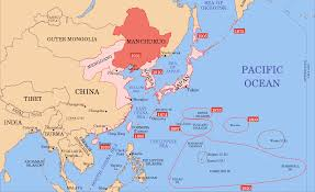 North China Plain Map by Manchukuo Japanese Puppet State 1932 U2013 1945 Dead Country