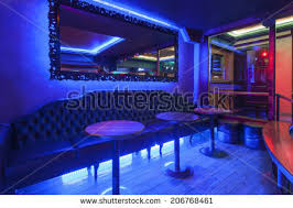 Nightclub Interior Design Nightclub Interior Design Cyber Style Theme Stock Illustration