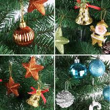 diy christmas tree hanging pendant ball santa claus pine cone