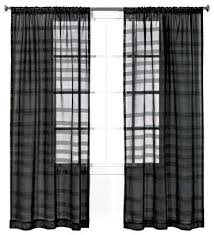 Black Sheer Curtains Black And White Sheer Curtains Patterned Sheer Curtains Black Blue