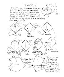 origami gabbiano birds