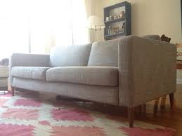 karlstad sofa and chaise lounge the couch or how i was defeated by ikea u0027s terrifying returns