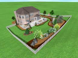 simple backyard landscaping ideas home round