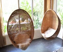 Hanging Seats For Bedrooms by Furniture Double Natural Rattan Hanging Chair For Bedroom Using