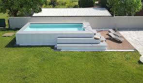 rivestimento in legno per piscine fuori terra le 25 pi禮 piscine fuori terra rivestite piscine