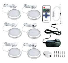 puck lights with remote under cabinet lighting battery with remote remote control wireless
