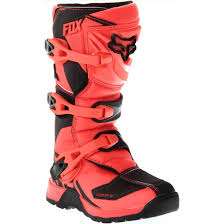 fox comp 5 motocross boots fox comp 5 junior orange boots motocard