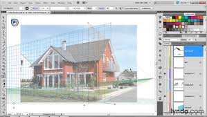how to use the perspective grid tool lynda com tutorial youtube