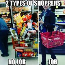 Types Of Memes - two types of shoppers meme