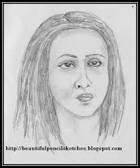 beautiful pencil sketches 10 female face drawing reference pencil